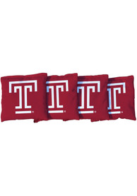 Temple Owls Corn Filled Cornhole Bags Tailgate Game