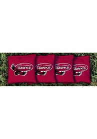 Saint Josephs Hawks Corn Filled Cornhole Bags Tailgate Game