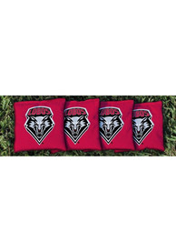 New Mexico Lobos Corn Filled Cornhole Bags Tailgate Game