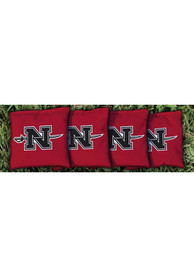 Nicholls State Colonels Corn Filled Cornhole Bags Tailgate Game