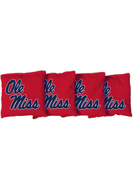 Ole Miss Rebels Corn Filled Cornhole Bags Tailgate Game