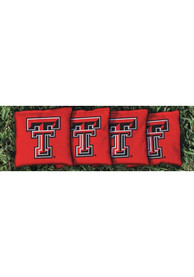 Texas Tech Red Raiders Corn Filled Cornhole Bags Tailgate Game