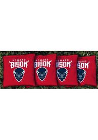 Howard Bison Corn Filled Cornhole Bags Tailgate Game