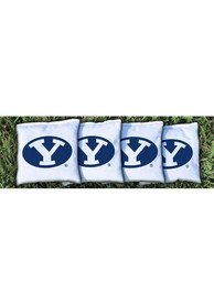 BYU Cougars Corn Filled Cornhole Bags Tailgate Game