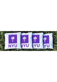 NYU Violets Corn Filled Cornhole Bags Tailgate Game