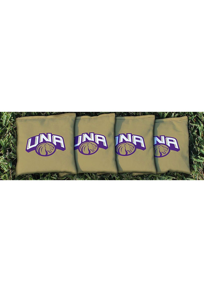 North Alabama Lions Corn Filled Cornhole Bags Tailgate Game - Image 1