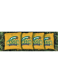George Mason University Corn Filled Cornhole Bags Tailgate Game