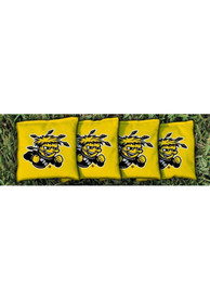 Wichita State Shockers Corn Filled Cornhole Bags Tailgate Game