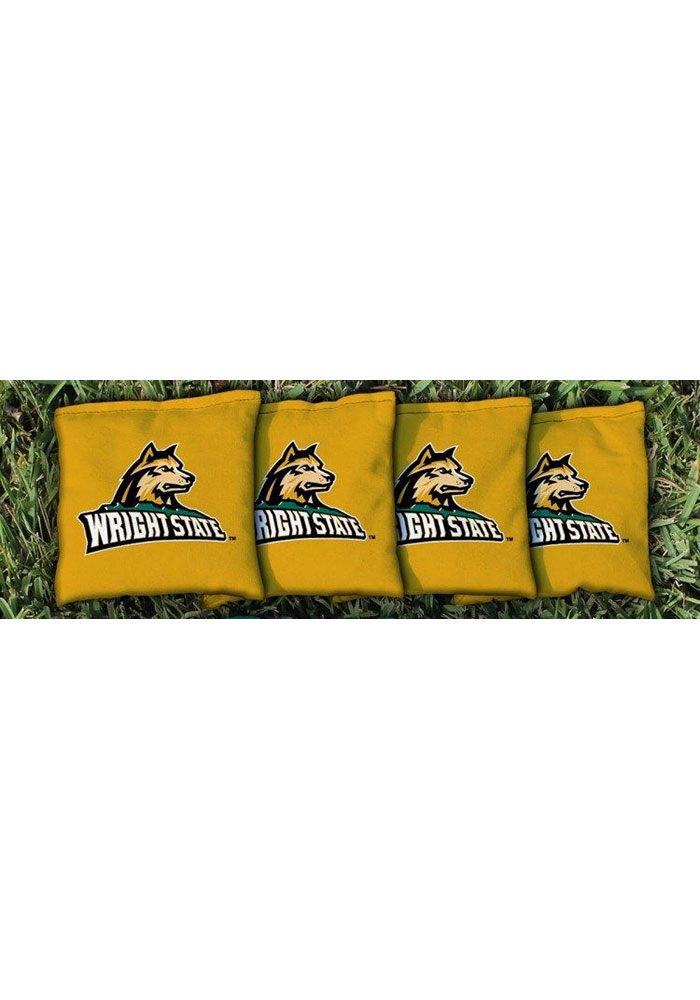 Wright State Raiders Corn Filled Cornhole Bags Tailgate Game - Image 1