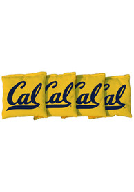 Cal Golden Bears Corn Filled Cornhole Bags Tailgate Game