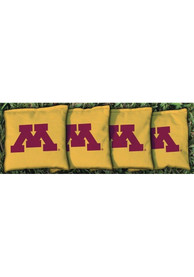 Minnesota Golden Gophers Corn Filled Cornhole Bags Tailgate Game
