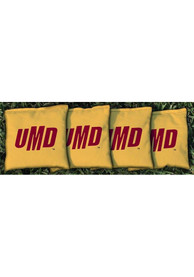 UMD Bulldogs Corn Filled Cornhole Bags Tailgate Game