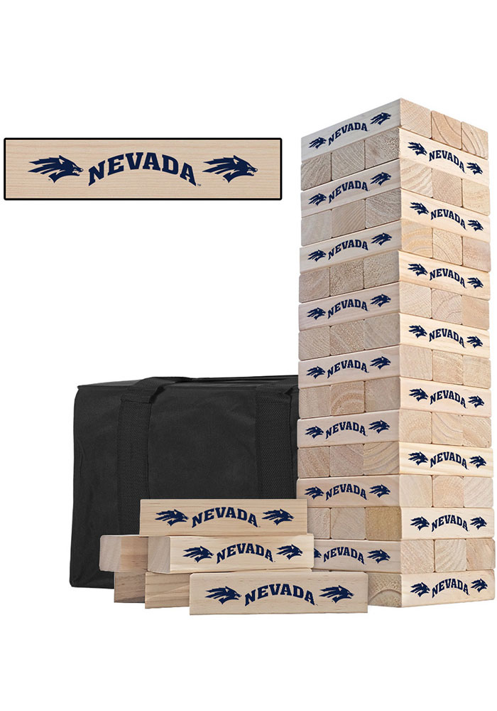 Nevada Wolf Pack Tumble Tower Tailgate Game - Image 1