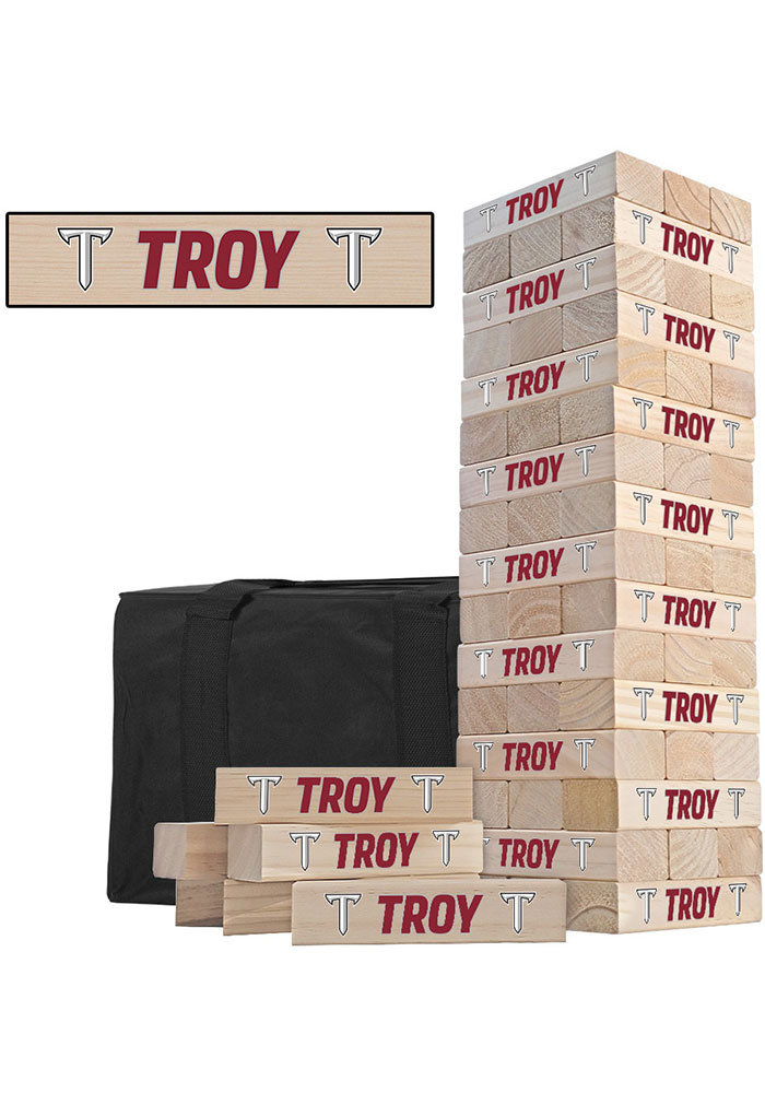 Troy Trojans Tumble Tower Tailgate Game - Image 1