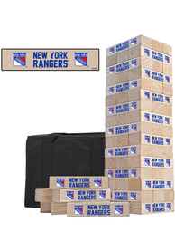 New York Rangers Tumble Tower Tailgate Game