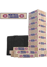 Montreal Canadiens Tumble Tower Tailgate Game