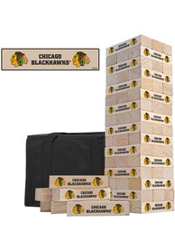 Chicago Blackhawks Tumble Tower Tailgate Game