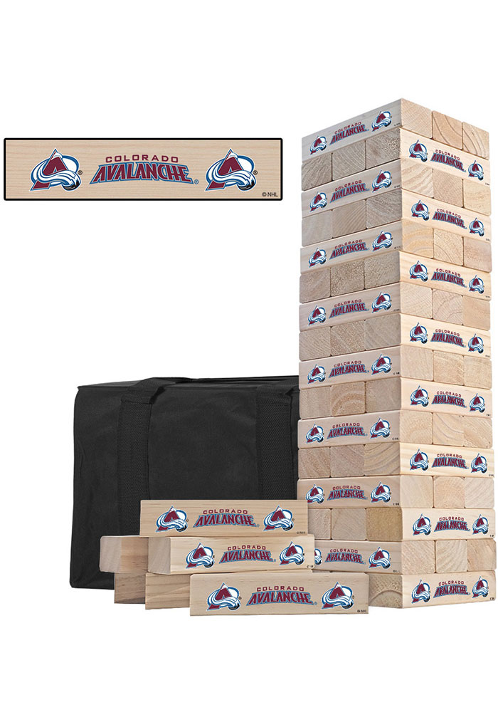 Colorado Avalanche Tumble Tower Tailgate Game - Image 1