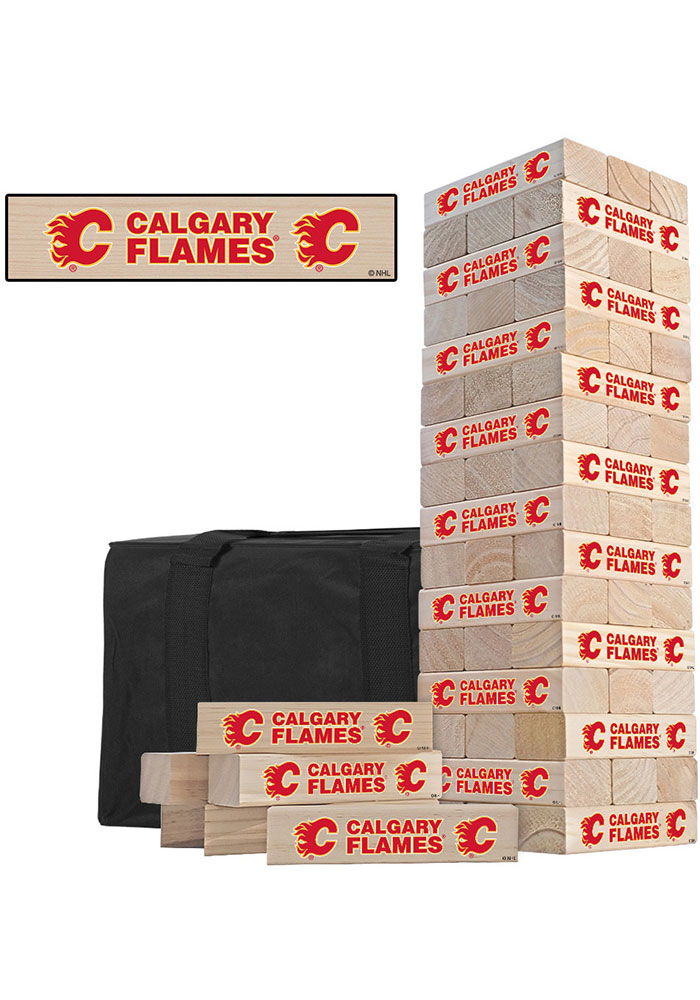 Calgary Flames Tumble Tower Tailgate Game - Image 1