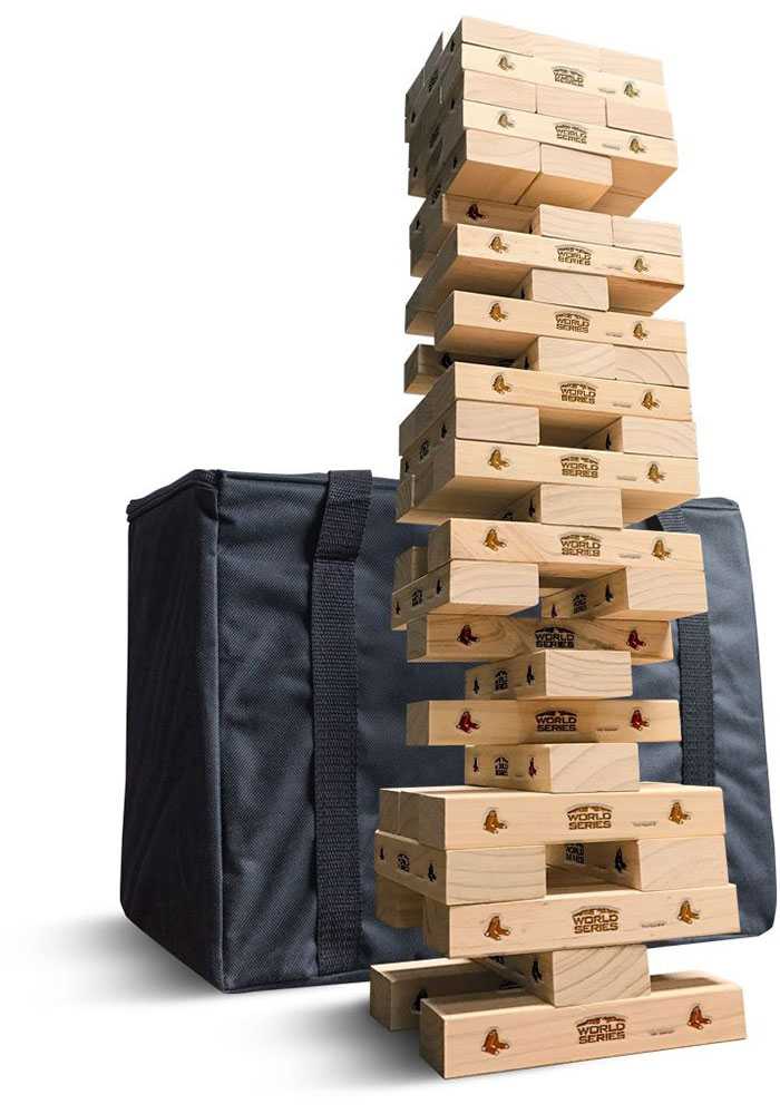 Boston Red Sox Tumble Tower Tailgate Game - Image 1