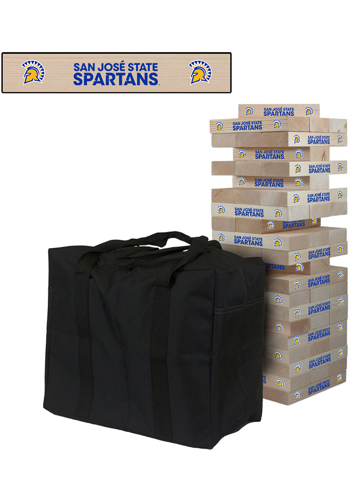 San Jose State Spartans Giant Tumble Tower Tailgate Game - Image 1
