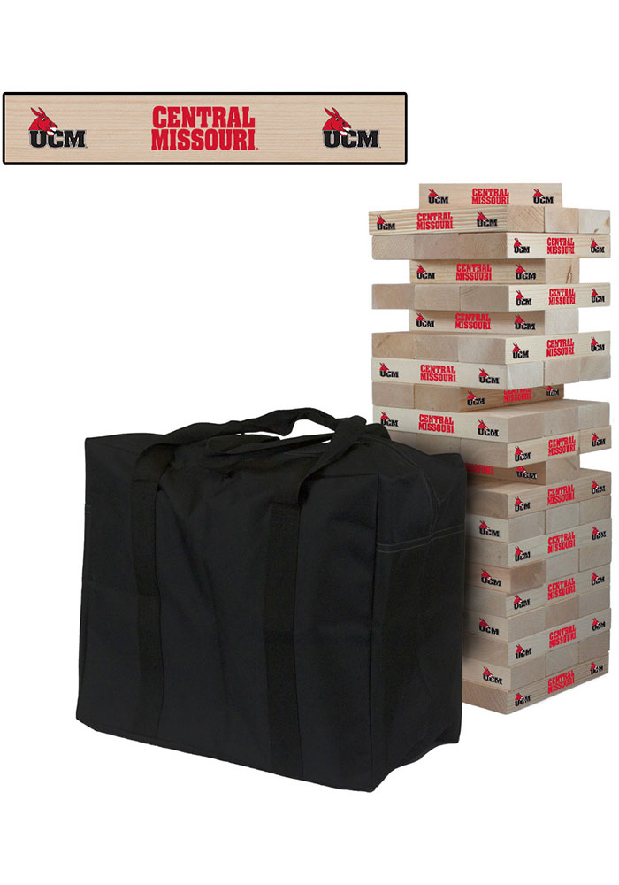Central Missouri Mules Giant Tumble Tower Tailgate Game - Image 1