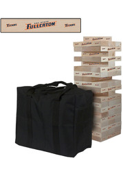 Cal State Fullerton Titans Giant Tumble Tower Tailgate Game