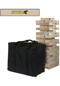 East Tennesse State Buccaneers Giant Tumble Tower Tailgate Game