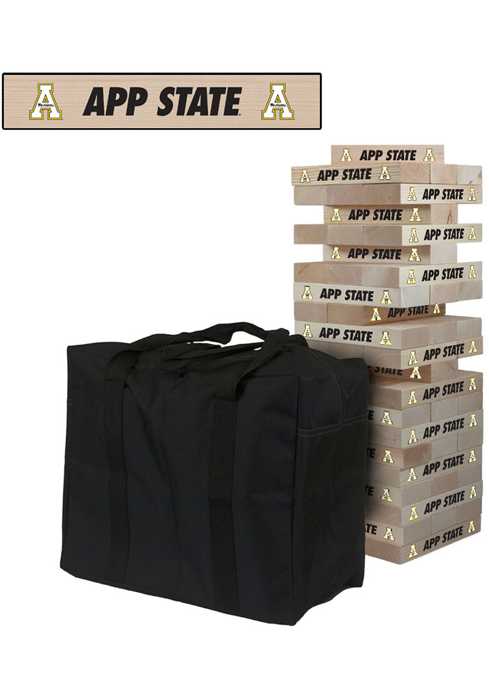 Appalachian State Mountaineers Giant Tumble Tower Tailgate Game - Image 1