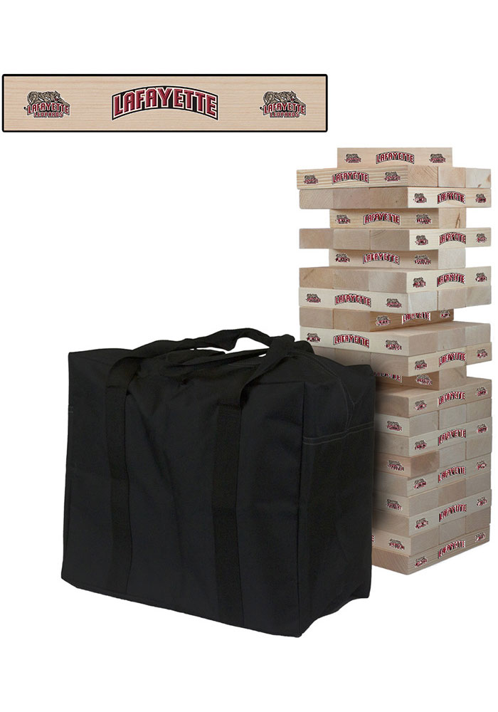 Lafayette College Giant Tumble Tower Tailgate Game - Image 1