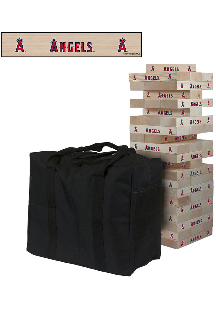 Los Angeles Angels Giant Tumble Tower Tailgate Game - Image 1
