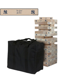 New York Yankees Giant Tumble Tower Tailgate Game