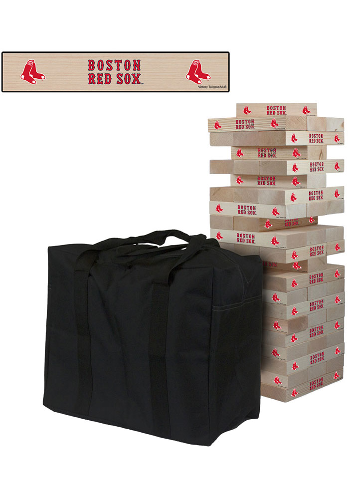 Boston Red Sox Giant Tumble Tower Tailgate Game - Image 1