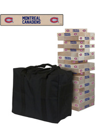 Montreal Canadiens Giant Tumble Tower Tailgate Game