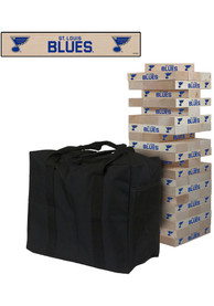 St Louis Blues Giant Tumble Tower Tailgate Game