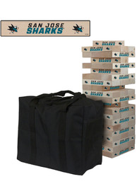 San Jose Sharks Giant Tumble Tower Tailgate Game