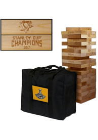 Pittsburgh Penguins Giant Tumble Tower Tailgate Game