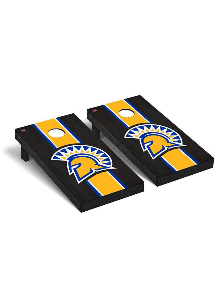 San Jose State Spartans Onyx Stained Regulation Cornhole Tailgate Game - Image 1