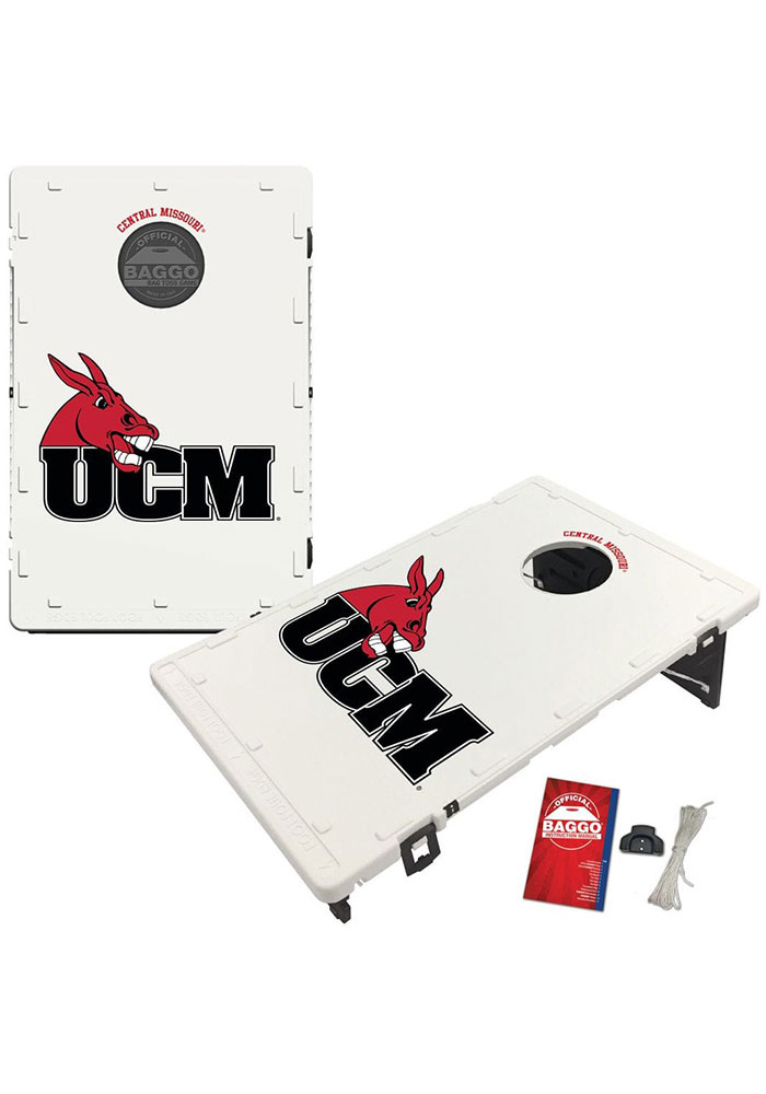 Central Missouri Mules Baggo Bean Bag Toss Tailgate Game - Image 1