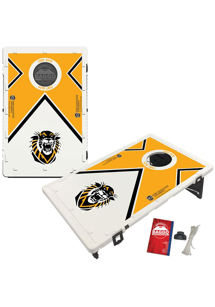 Fort Hays State Tigers Baggo Bean Bag Toss Tailgate Game - Image 1