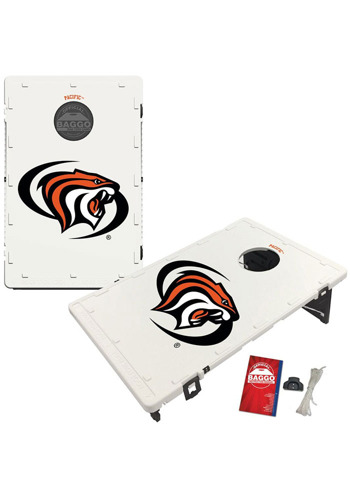 Pacific Tigers Baggo Bean Bag Toss Tailgate Game - Image 1