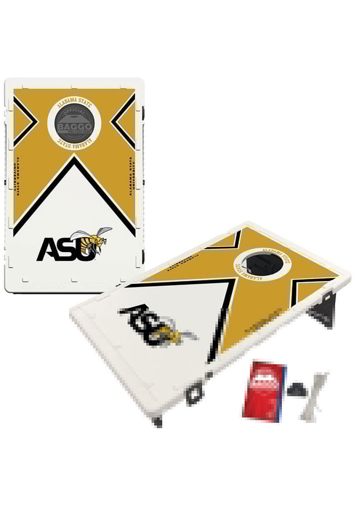 Fabulous Alabama State Hornets Baggo Bean Bag Toss Tailgate Game 8422298 Gmtry Best Dining Table And Chair Ideas Images Gmtryco