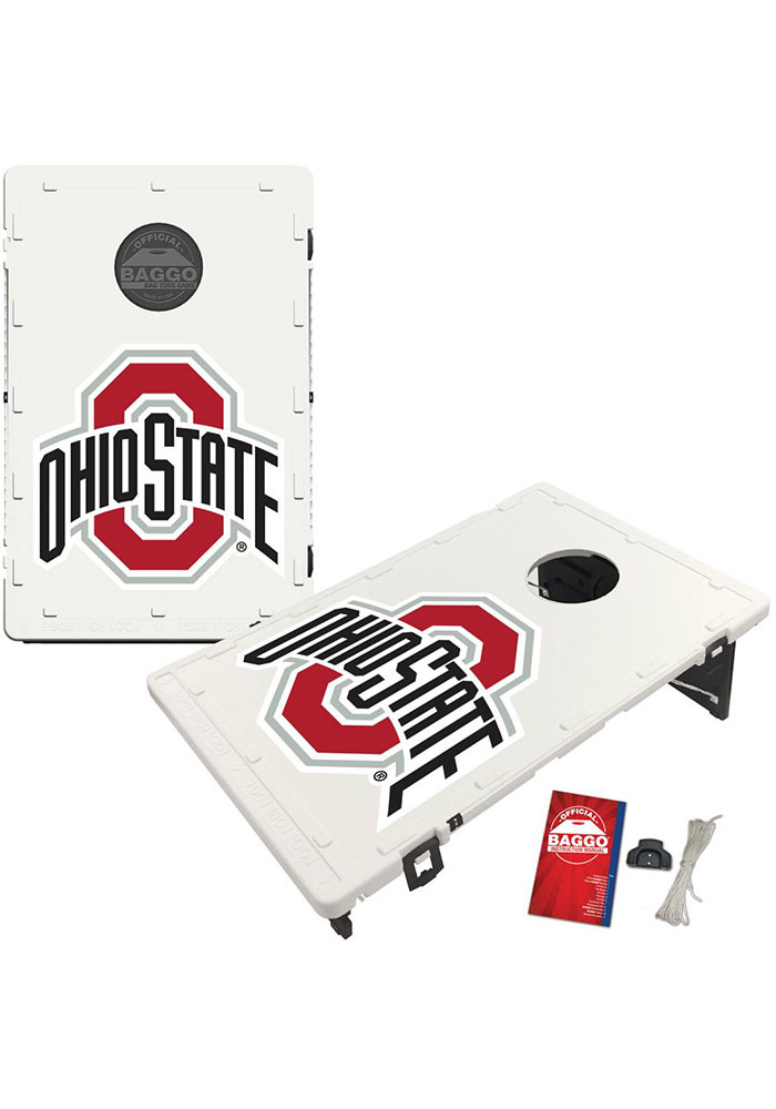 Ohio State Buckeyes Baggo Bean Bag Toss Tailgate Game - Image 1