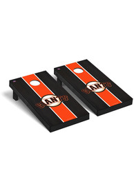 San Francisco Giants Onyx Stained Regulation Cornhole Tailgate Game
