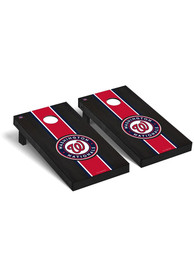 Washington Nationals Onyx Stained Regulation Cornhole Tailgate Game