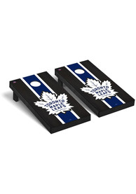 Toronto Maple Leafs Onyx Stained Regulation Cornhole Tailgate Game