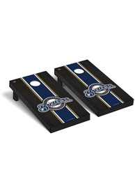 Milwaukee Brewers Onyx Stained Regulation Cornhole Tailgate Game