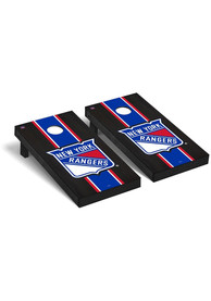 New York Rangers Onyx Stained Regulation Cornhole Tailgate Game