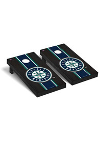 Seattle Mariners Onyx Stained Regulation Cornhole Tailgate Game