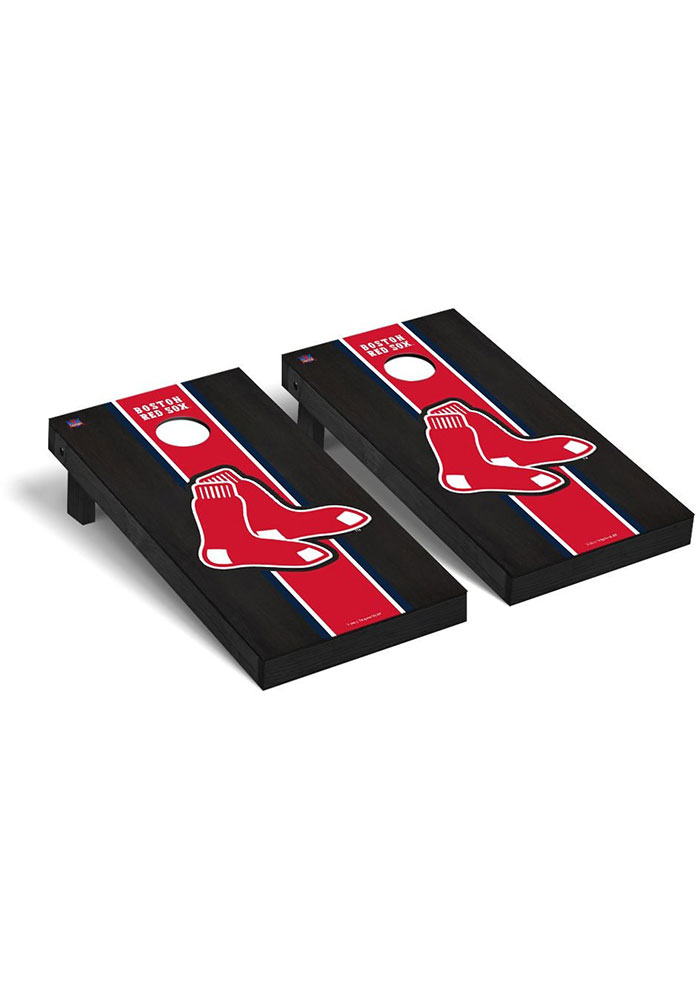 Boston Red Sox Onyx Stained Regulation Cornhole Tailgate Game - Image 1